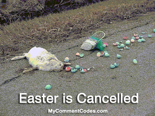 MySpace Funny Easter Comment: 7