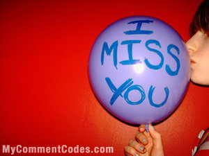 MySpace I Miss You Comment: 3