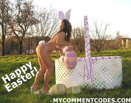 Orkut Sexy Easter Comment: 3